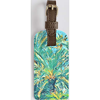Leather Accent Tag - Kelp Accent Tag by VIDA VIDA RaGmFIn