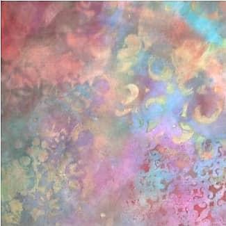 Silk Square Scarf - Rainbow Rose Silk Sq. 1 by VIDA VIDA 6Ah8PL