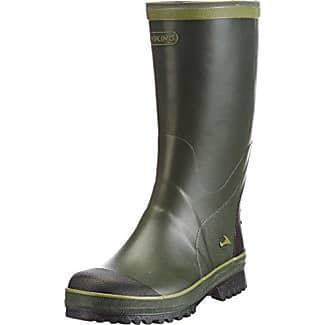 Viking Full Klaff - Botas de goma para hombre, color verde, talla 39 EU (5.5 Erwachsene UK)