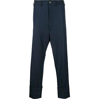 Pants for Men On Sale, Dark Blue, Wool, 2017, 32 34 38 Vivienne Westwood