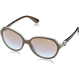 Vogue Damen Sonnenbrille VO2992S W44/11, Schwarz (Black W44/11), One size (Herstellergröße: 53)