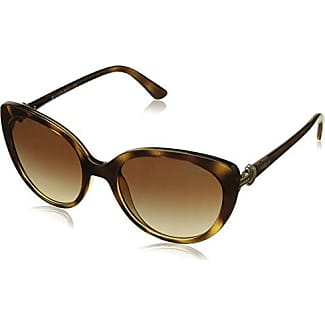 VOUGE Damen Sonnenbrille 0VO5051S W65613, Braun (Dark Havana/Browngradient), 52