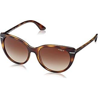 Vogue Damen Sonnenbrille VO2943SB W65613, Braun (Dark Havana W65613), One size (Herstellergröße: 55)