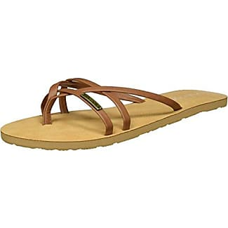 Thrills Zehentrenner, Chanclas para Mujer, Gold (Gold), 40 EU Volcom