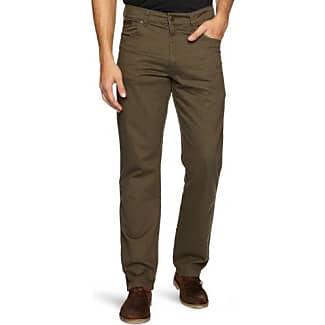 Texas, Pantalones para Hombre, Marrón (Mongoose 60), W31/L32 Wrangler