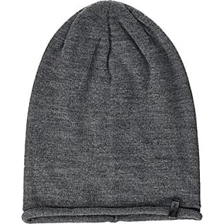 Hackett Mens Cable Knit Hat Beanie, Grey (925Middle Grey), One Size Hackett