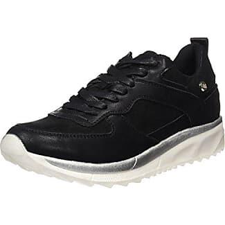 XTI Damen 046699 Sneakers, Schwarz (Black), 39 EU