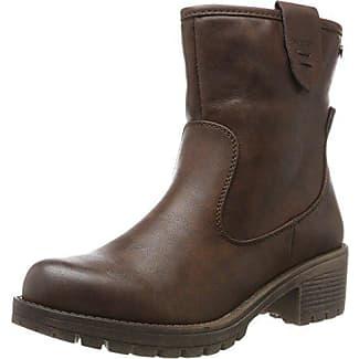 XTI Damen 65329 Biker Boots, Braun (Brown), 36 EU