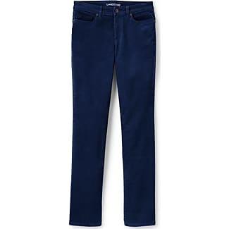 Straight Cord-Jeans in Petite-Größe - Braun - 34 66 von Lands End Lands End jGdtxl9If