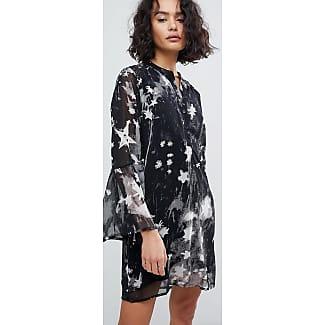 Kimono mit Quasten-Schnürung und Klecks-Print - Grau Religion FzkAwSOq