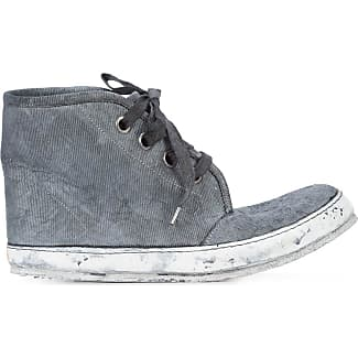 distressed hi-tops - Grey A Diciannoveventitre / Augusta