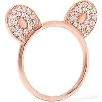 Aamaya By Priyanka Woman Rose Gold-plated Topaz Ring Rose Gold Size 6 Aamaya By Priyanka