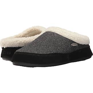 Acorn Mule Ragg Dark Charcoal Heather Womens Slippers