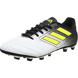 Adidas Copa 18.4 FxG, Botas de Fútbol para Hombre, Blanco (Ftwbla/Negbas/Ormetr 000), 46 EU
