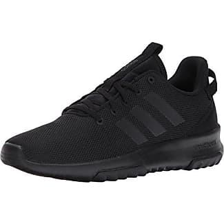 adidas Neo Mens CF Racer TR Trail-Runners, Black/Black/Running White