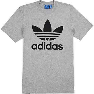 maglietta adidas nera con strisce bianche