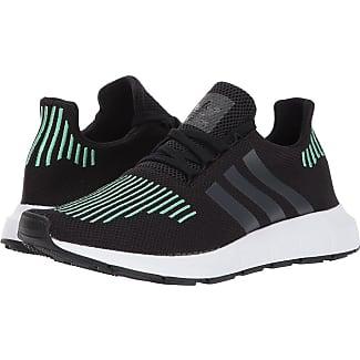 adidas Originals Swift Run (Black/Black/Green Glow) Mens Shoes
