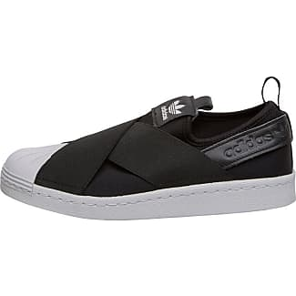 adidas Originals Womens Superstar Slip On Trainers Core Black/Core  Black/Footwear White