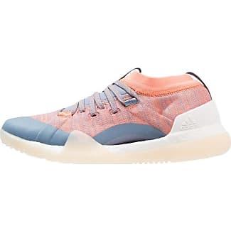 adidas Performance PUREBOOST X - Chaussures de running neutres - ash pearl/hi-res blue