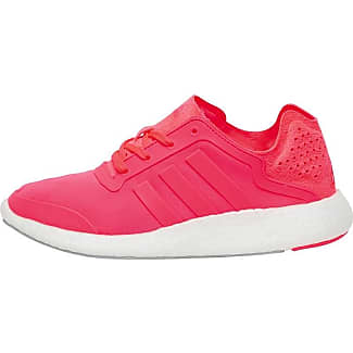 adidas Womens Pure Boost Neutral Running Shoes Flash Red/Flash Red/Flash  Red/
