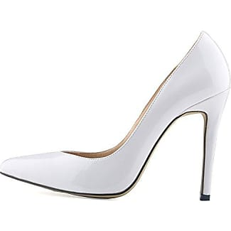 Aisun Damen Fashion Spitz Zehen High Heels Stiletto Transparent Pumps Aprikose 40 EU
