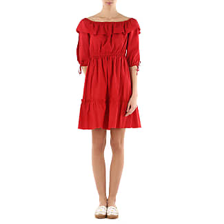 Dress for Women, Evening Cocktail Party On Sale in Outlet, Red, Viscose, 2017, M Vivienne Westwood