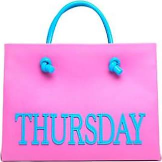 small Saturday tote - Pink & Purple Alberta Ferretti