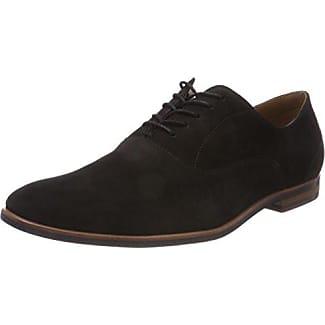 Aldo Diggs, Zapatos de Cordones Oxford para Hombre, Negro (91 Black Suede), 41 EU