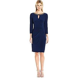 Alex evening electric blue dress