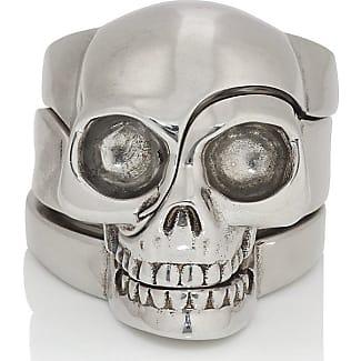 Snake Bones Phantom Skull Ring in Sterling Silver - UK Q - US 8 - EU 57 3/4