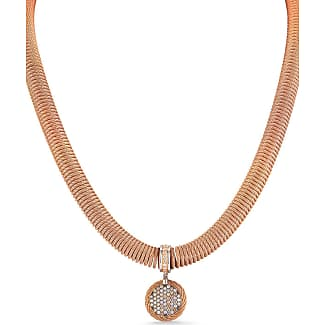 Alór Multi-Row Square Diamond Pendant Necklace
