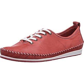 Andrea Conti 0027400 - Zapatos con cordones de cuero mujer, color marrón, talla 37
