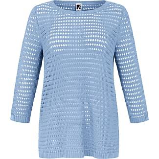 Jersey-Jacke 3/4-Arm Anna Aura blau Anna Aura