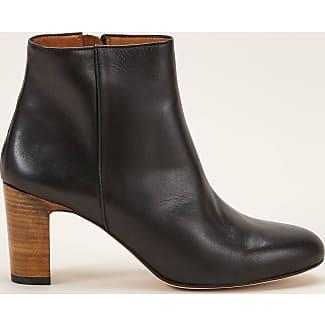 Boots zippées en cuirAnthology Paris