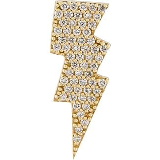 Anton Heunis Heart Eating Star Mono Earring in 14K Gold and Diamonds