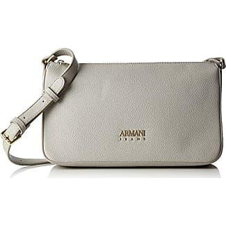774346270b Armani Jeans Borsa Tracolla - Borse Baguette Donna, Beige, 17x8x28 cm (B x