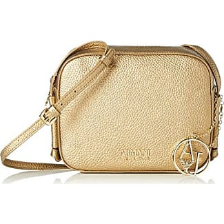 7e45610a6e Armani Jeans Borsa Tracolla - Borse Baguette Donna, Gold (Oro), 16x6x20 cm