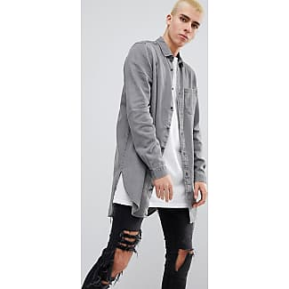 Jeansskjortor fr n asos nu upp till 50 stylight for Jeanshemd lang
