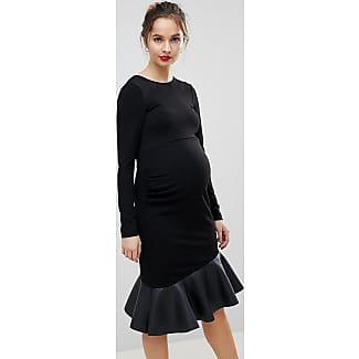 PU Pephem Mini Dress - Black Asos Maternity