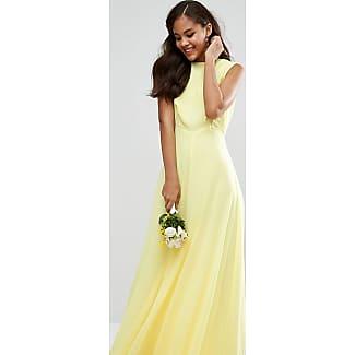 Abendkleid kleid gelb