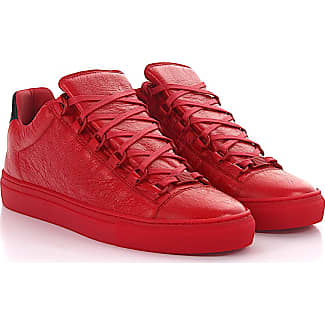 balenciaga shoes red arena