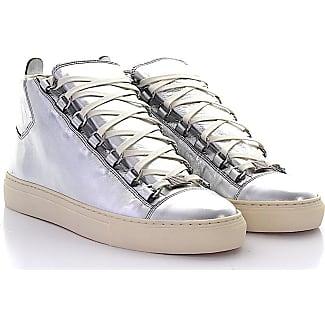 balenciaga silver sneakers