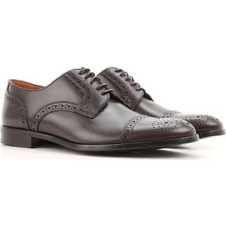 Zapatos con Cordones para Mujer, Oxfords, Zapatos Calados Baratos en Rebajas, Negro, Piel, 2017, 36 36.5 37 38 40 41 Alexander McQueen