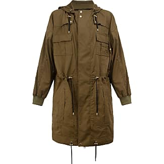 Balmain cotton parka