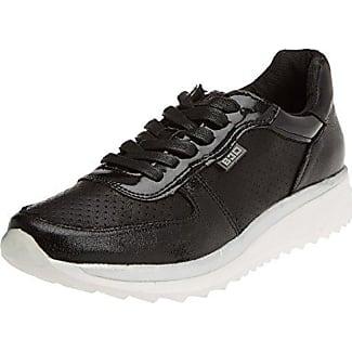 bass3d 41517, Zapatillas para Mujer, Negro (Black), 41 EU