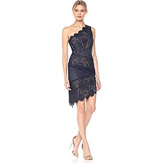 BCBG Navy Lace Dress