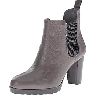 Bella Vita Frauen Deryn Spitzenschuhe Leder Fashion Stiefel Grau Groesse 5 US /35.5 EU