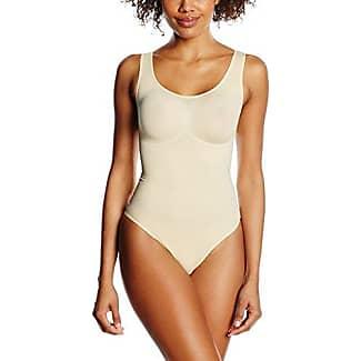 Womens Figurformender Seamless Body MIT Magnolienschnörkel Bodysuit Belly Cloud