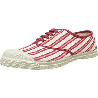 Bensimon Tennis Corduroy, Zapatillas para Mujer, Rojo (Bordeaux), 39 EU