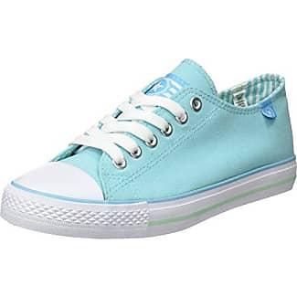 Beppi Canvas Shoe, Zapatillas de Deporte para Mujer, Azul (Turq. Blue), 40 EU